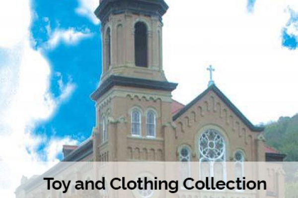 Toy and Clothing Collection for St. Leo's Parish