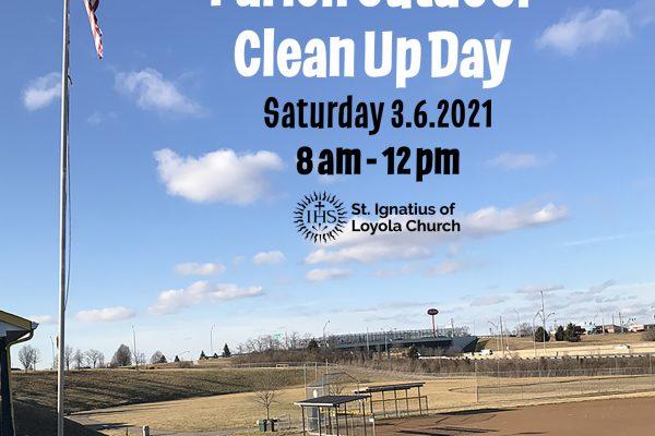 Spring Parish Outdoor Clean Up Day