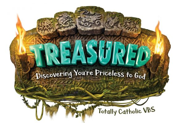 Vacation Bible School Treasured: Discovering You're Priceless to God July 12-16, 2021