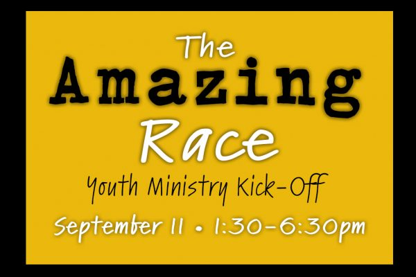 Amazing Race Youth Ministry Kick-Off