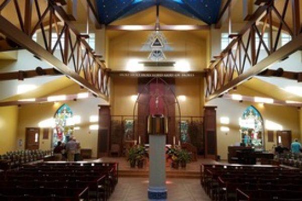 Pilgrimage to St. Joseph Church, North Bend