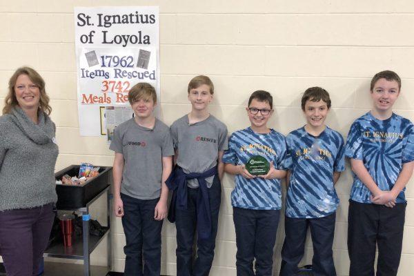 Award-Winning Food Rescue Squad