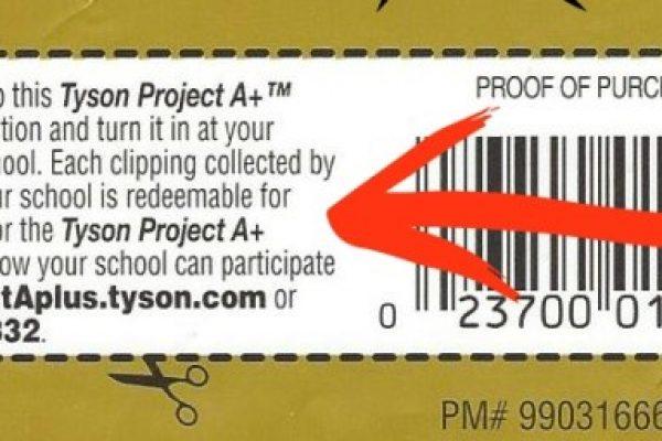 Tyson Labels Program Ending!