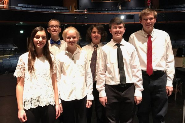 Students Participate in Honor Band