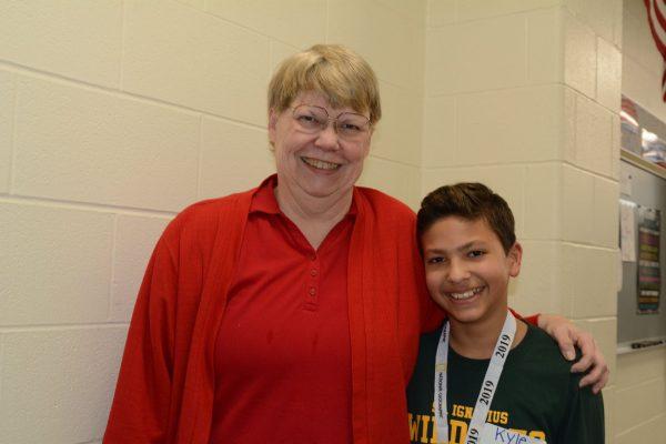 St. Ignatius Spelling Bee Champion
