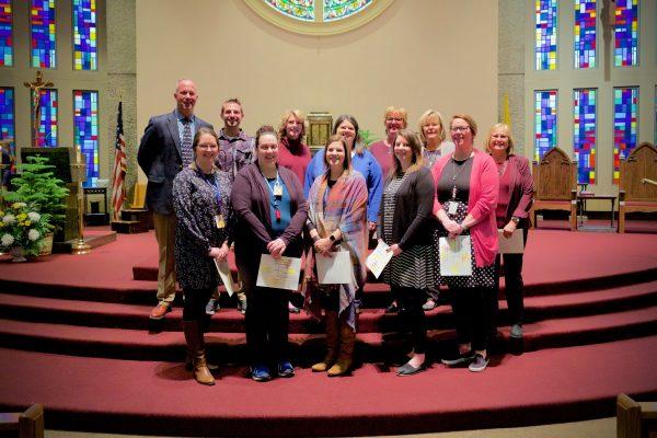 Staff Celebrates Service Milestones